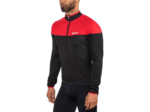 Santini Hermes Jacket Herre red